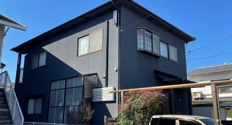 広島市一般住宅の塗り替え工事、完了写真