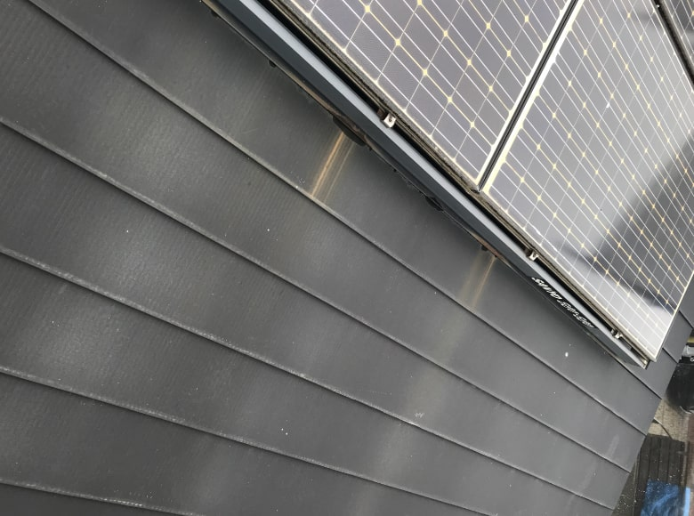 岩国Y様邸、屋根塗り替え前の写真(ビフォー)