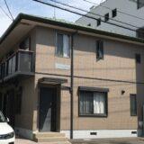 広島市でアパートの塗装工事を行いました。