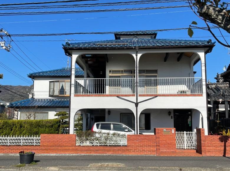 下松市D様邸、外壁塗り替え完了写真(横)
